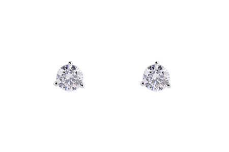 B220-25117: EARRINGS .16 TW