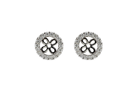 C223-86017: EARRING JACKETS .24 TW (FOR 0.75-1.00 CT TW STUDS)