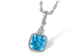 D222-97862: NECK 1.03 BLUE TOPAZ 1.05 TGW