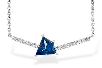 D226-61471: NECK .87 LONDON BLUE TOPAZ .95 TGW