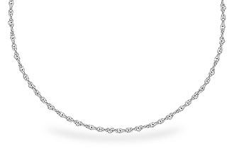 D309-34207: 1.5MM 14KT 22IN GOLD ROPE CHAIN WITH LOBSTER CLASP