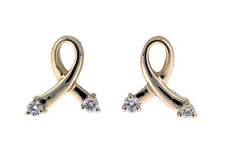 E036-63289: EARRINGS .07 TW