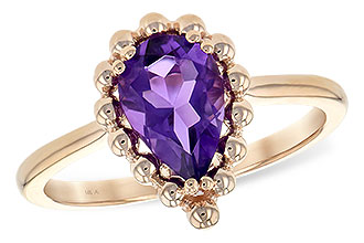F225-67889: LDS RING 1.06 CT AMETHYST