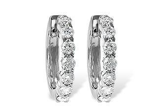 G222-03298: EARRINGS 1.00 CT TW