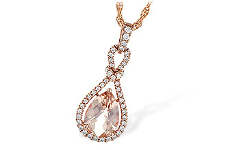 H226-55125: NECK 1.54 MORGANITE 1.75 TGW
